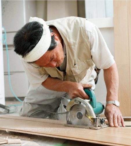 お家の修理