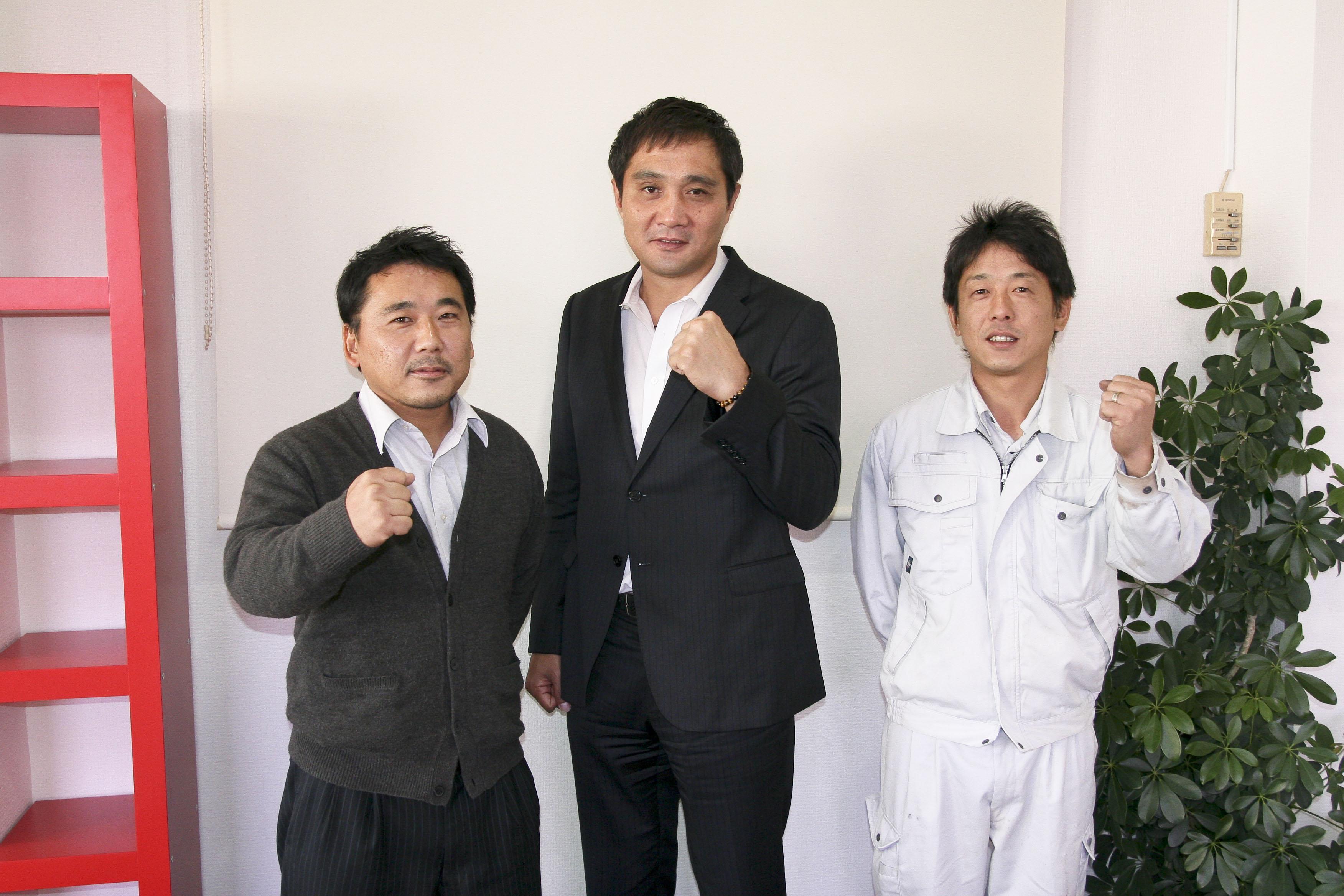 プロボクサー竹原さんが来ました( ゚Д゚)